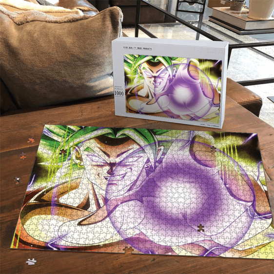 Dragon Ball Super Smirking Broly Awesome Landscape Puzzle