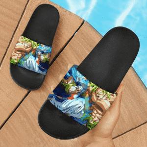 Dragon Ball Super Legendary Broly Vs Gogeta SSGSS Slide Footwear