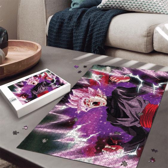 Dragon Ball Super Saiyan Rose Goku Black Charging Aura Puzzle