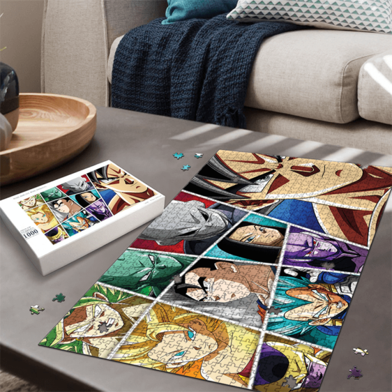 Dragon Ball Super Universe All-Star Characters Awesome Puzzle