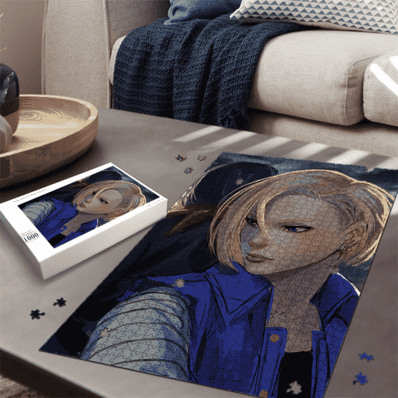 Dragon Ball Z Back To Back Android 18 and 17 Dope Puzzle