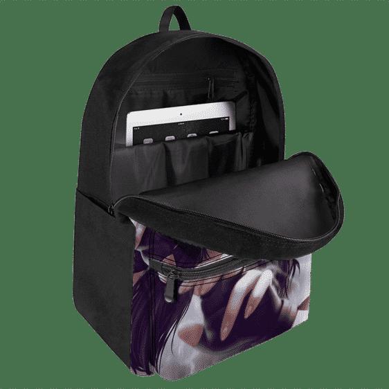 Dragon Ball Z Beautiful Videl Fantastic Artwork Canvas Backpack