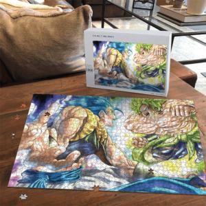 Dragon Ball Z Broly Gogeta Fantastic Landscape Puzzle
