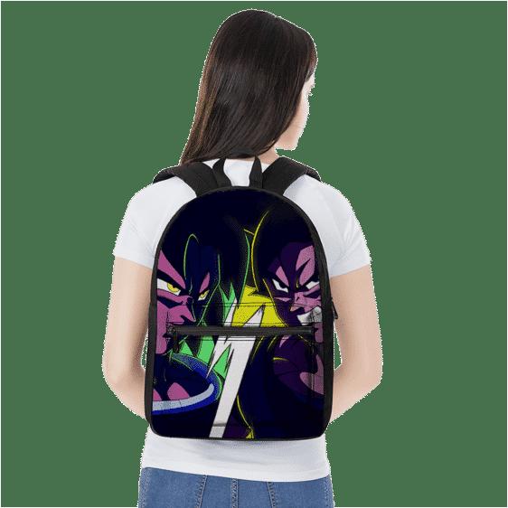Dragon Ball Z Broly VS Son Goku Contrast Color Art Backpack