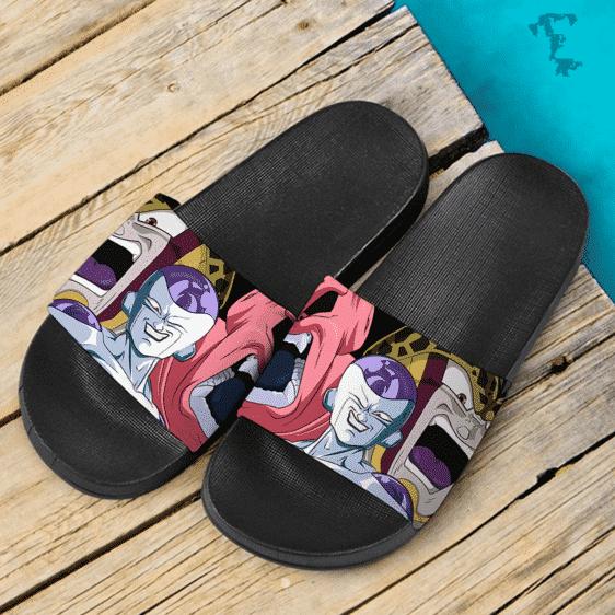 Dragon Ball Z Frieza Majin Buu Cell Powerful Villains Dope Slide Footwear