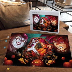 Dragon Ball Z Frieza Versus Kakarot SSG Fantastic Puzzle
