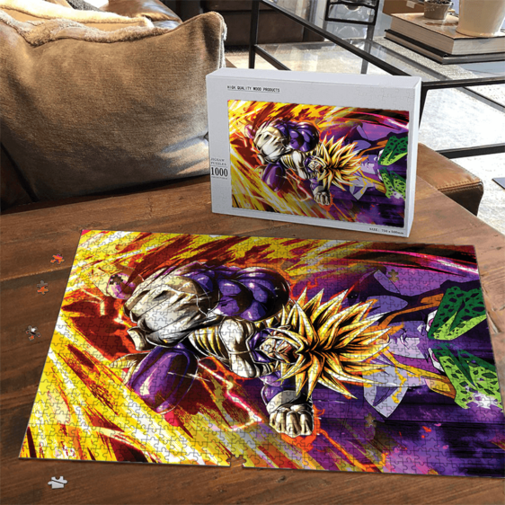 Dragon Ball Z Future Trunks Super Saiyan Armor Cell Dope Puzzle