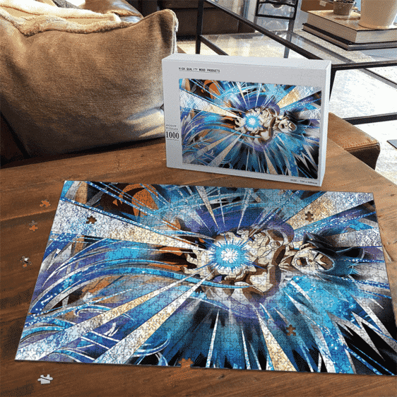 Dragon Ball Z Goku Kamehameha Dokkan Art Dope Puzzle