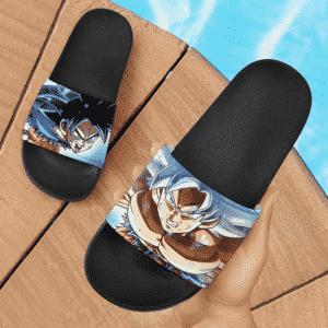 Dragon Ball Z Goku Ultra Instinct And Mastered UI Cool Slide Sandals
