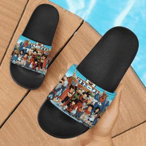Dragon Ball Z Goku Vegeta Gohan Saiyan Man Saga Cool Slide Footwear