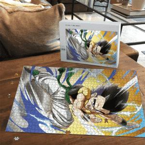 Dragon Ball Z Gotenks Base Form Easy Portrait Puzzle