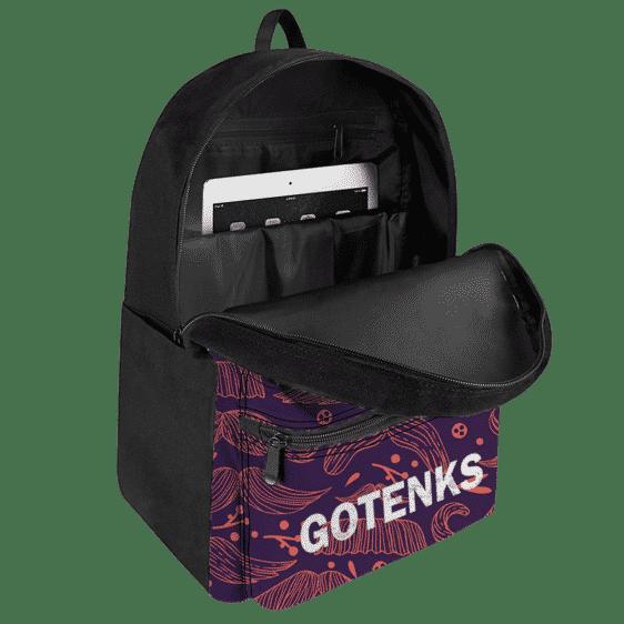 Dragon Ball Z Gotenks Majestic Pose Dark Themed Backpack