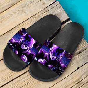Dragon Ball Z Hit The Hitman Awesome Purple Slide Slippers