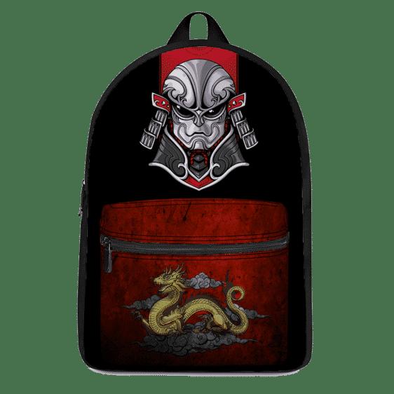 Dragon Ball Z Jiren In Samurai Costume Japanese Themed Backpack