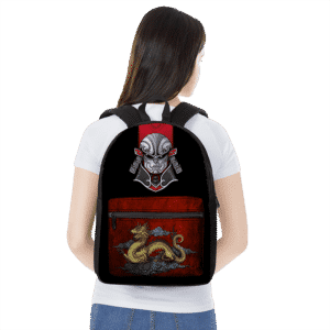 Dragon Ball Z Jiren In Samurai Costume Japanese Themed Backpack