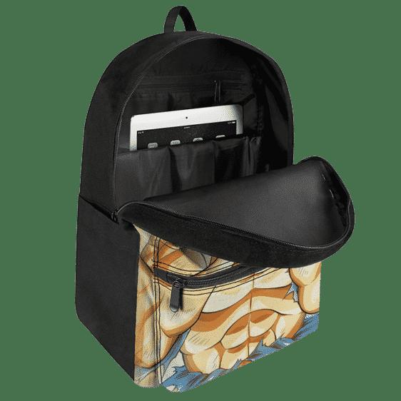 Dragon Ball Z Kakarot SSJ2 Wonderful Art Canvas Backpack