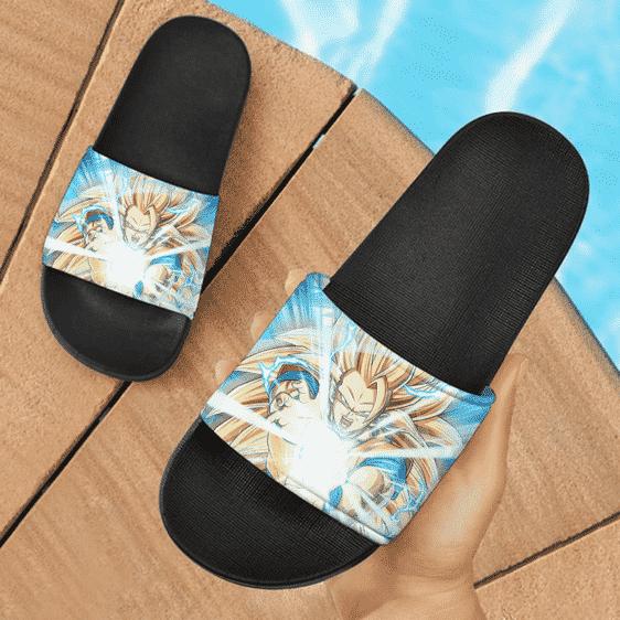 Dragon Ball Z Kakarot Super Saiyan 3 Kamehameha Awesome Slide Slippers