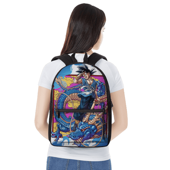 Dragon Ball Z Kakarot With Blue Shenron Awesome Backpack
