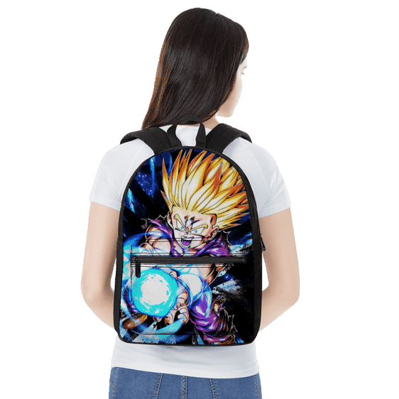 Dragon Ball Z Kid Gohan SSJ2 Cool Awesome Backpack