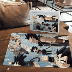 Dragon Ball Z Kid Goku Gine Bardock Vegeta Bulma Puzzle