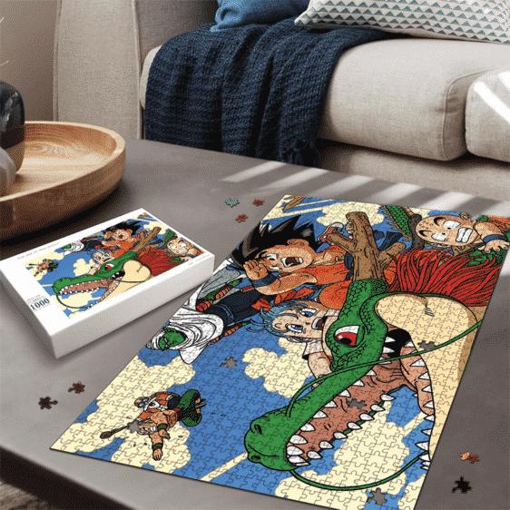 Dragon Ball Z Kid Goku Shenron Bulma Piccolo Roshi Fun Puzzle