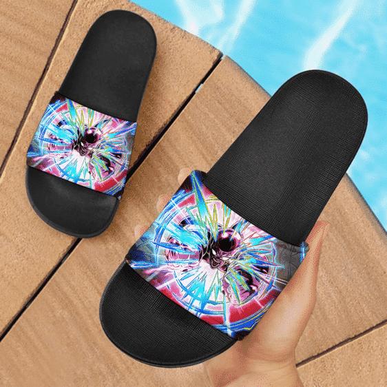 Dragon Ball Z Mad Frieza Full Power Dokkan Art Dope Slide Slippers