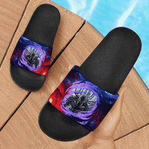 Dragon Ball Z Meta Cooler Awesome Artwork Slide Sandals