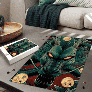 Dragon Ball Z Mighty Powerful Shenron Green Red Puzzle