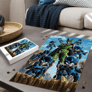 Dragon Ball Z Perfect Cell And Cell Junior Amazing Portrait Puzzle