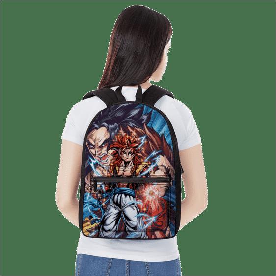 Dragon Ball Z Goku Fusion Vegeta SSJ4 Gogeta Backpack