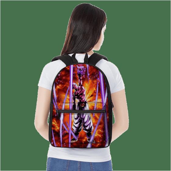Dragon Ball Z Super Buu Explosive Artwork Dope Canvas Backpack