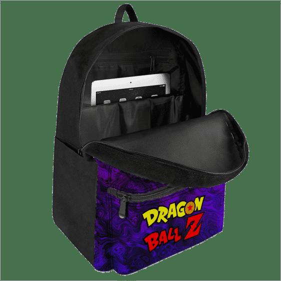 Dragon Ball Z Trippy Universe Goku SSJ3 Awesome Purple Backpack
