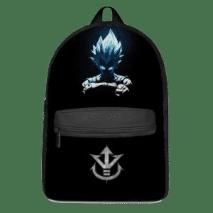 Dragon Ball Z Vegeta SSGSS Saiyan Family Crest Awesome Backpack