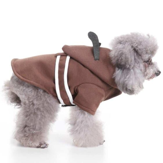 V-Neck Style Comfy Winter Clothing Small Dog Hoodie - Woof Apparel
