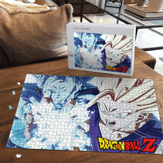 Father & Son Combined Kamehameha Goku and Gohan Combo Puzzle