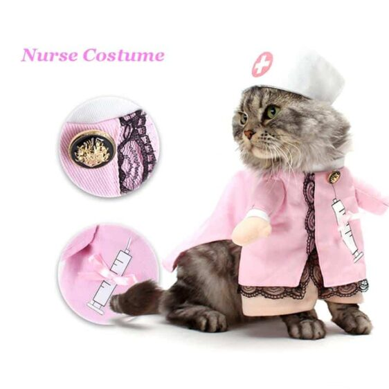 Doctor and Nurse Couple Funny Pet Costume for Dog - Woof Apparel