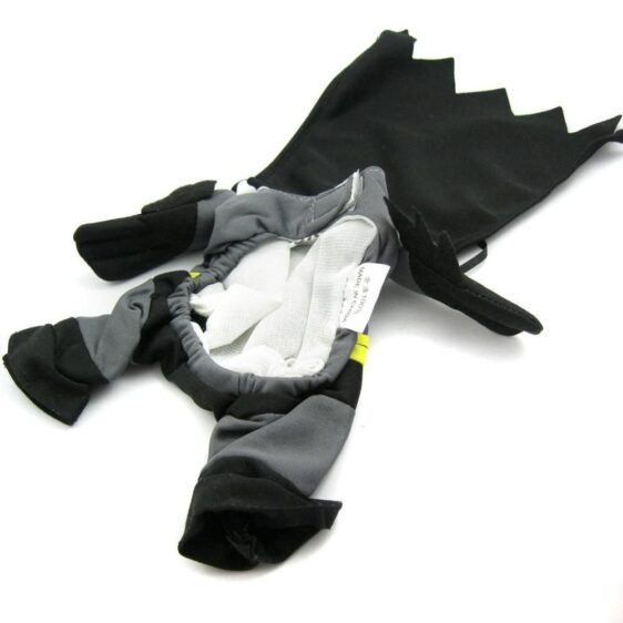 Batman Superhero Gray with Cape Costume for Dog - Woof Apparel