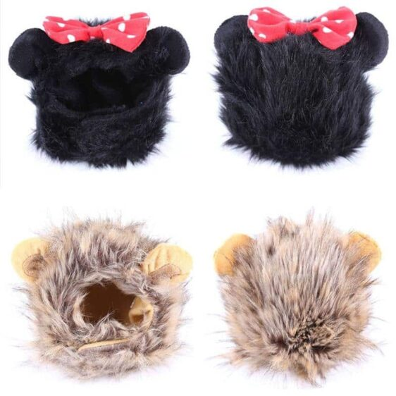 Charming Furry Headdress Costume For Your Cats And Dogs - Woof Apparel