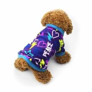 Soft And Comfy Graffiti Style Small Dog Outfit Sweatshirt - Woof Apparel