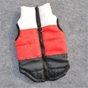 Cool Black Padded Windproof Jacket Outfit Puppy Vest - Woof Apparel