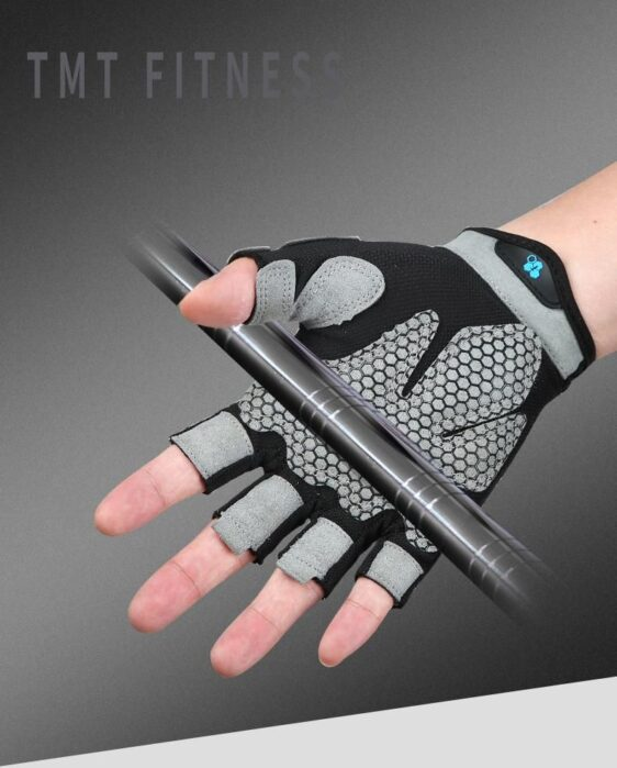 Exquisite Quicksilver Ultralight PolyesterYoga Workout Gloves