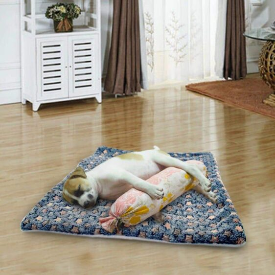 Adorable Star Pattern Design Warm Cushion Mat Dog Bed - Woof Apparel
