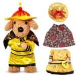 Funny Ethnic Emperor Cosplay Costume For Dogs - Woof Apparel