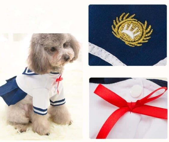 Fashionable Navy Style Costume For Your Cats And Dogs - Woof Apparel