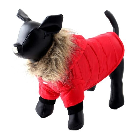 Comfy and Warm Fur Fall Autumn Winter Coats for Dogs - Woof Apparel