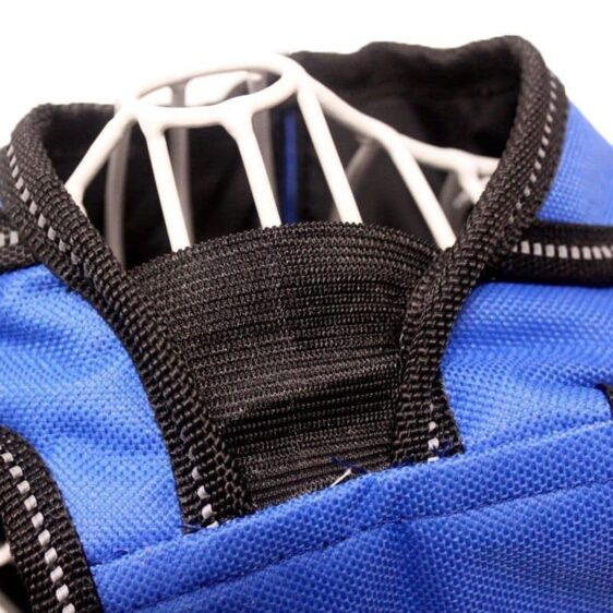 Safety Waterproof Vest With Belt Raincoat For Dogs - Woof Apparel