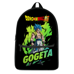 Perfect Saiyan Blue Gogeta Broly Aura Dragon Ball Super Backpack
