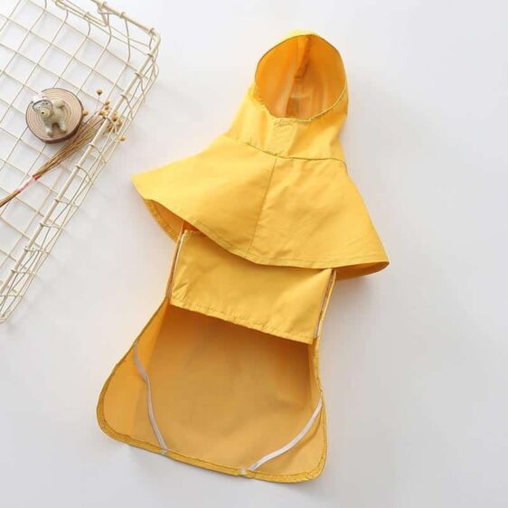 Warm Solid Waterproof Jacket Dog Cover Puppy Raincoat - Woof Apparel