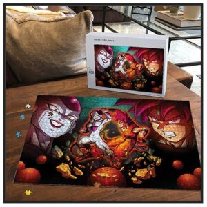 Dragon Ball Z Jigsaw Puzzles