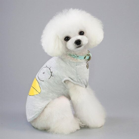 Bulge Eyes And Lips Emotionless Summer Puppy Shirt - Woof Apparel